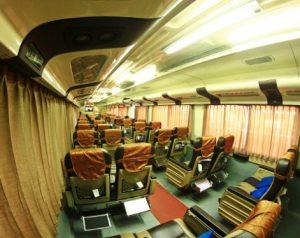 Interior Kereta Api Agro Wilis