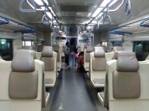Interior Kereta Api Bengawan Terbaru