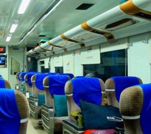 Interior Kereta Api Bima