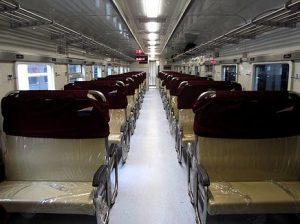Interior Kereta Api Kalijaga