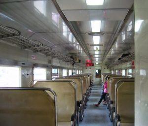 Interior Mewah Kereta Api Krakatau