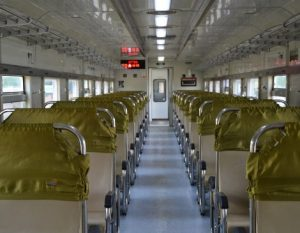 Interior kereta api Joglokerto