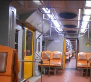 Interior Kereta Api Dhoho