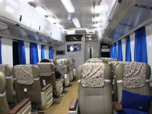 Interior Kereta Api Gajayana