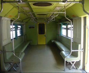 Interior Kereta Api Prambanan Express