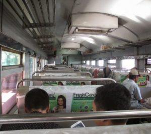 Interior Kereta Api Sarangan Ekspres