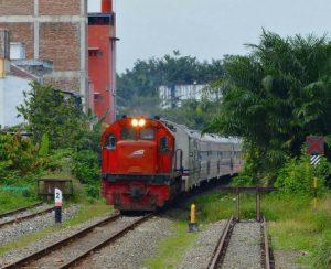 Rute perjalanan Kereta Api Dhoho