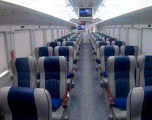 Interior Kereta Api Taksaka