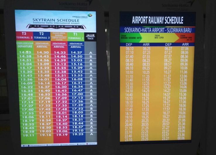 Skytrain Bandara Soetta
