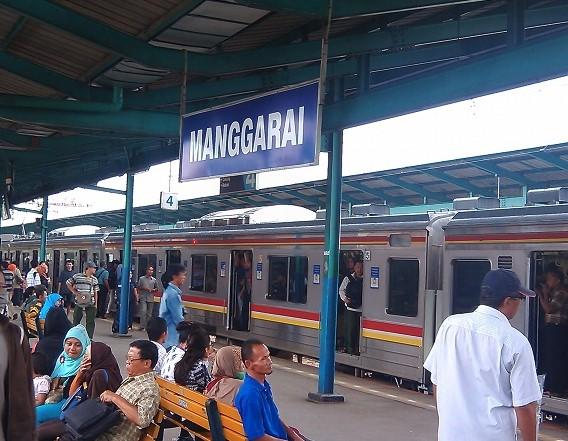 Keberangkatan Stasiun Manggarai