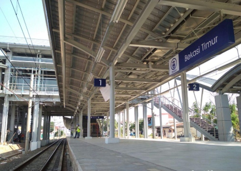 Jadwal KA stasiun Bekasi Timur