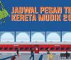 Jadwal Pemesanan Tiket Kereta Api Lebaran