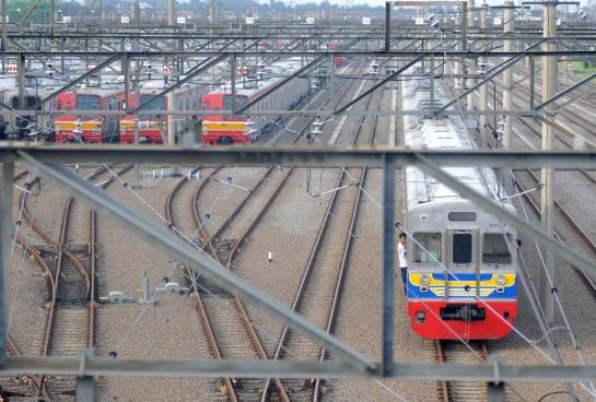 Kereta api tambahan mudik lebaran